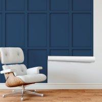 Embossed Wood Veneered Wallpaper
