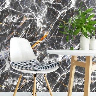 Black Marble Effect Wallpaper FD-205-04