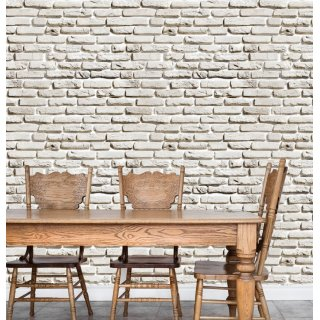 Large Stone Wall Effect Wallpaper D908-1