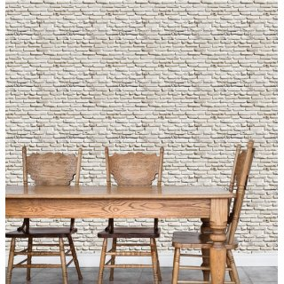 Large Stone Wall Effect Wallpaper D908-2