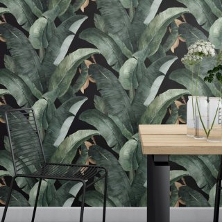 Banana Leaves Wallpaper D912