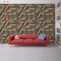 Geometric 3D Effect Wallpaper FD-018-1