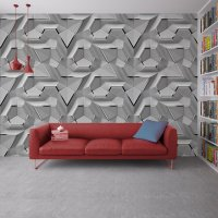 Geometric 3D Effect Wallpaper FD-018-4