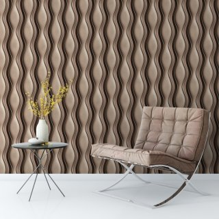 Geometric 3D Effect Wallpaper FD-019-10