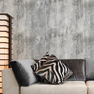 Concrete Plaster Effect Roll Wallpaper - Textured Surface FD-201-54