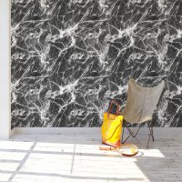 Black Marble Effect Wallpaper FD-205-04-2