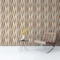Wave Marble Pattern Wallpaper FD-205-15-1