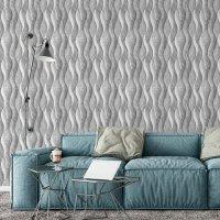 Wave Marble Pattern Wallpaper FD-205-15-2