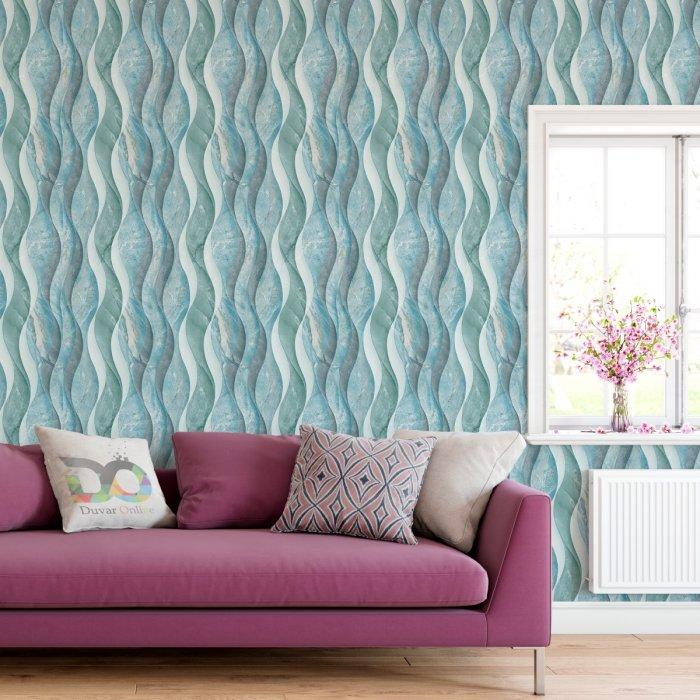 Wave Marble Pattern Wallpaper FD-205-15-4