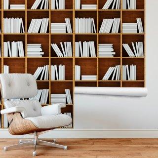 Bookshelf Wallpaper FD-206-03