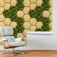 Vertical Garden - Wood and Leaves FD-300-10