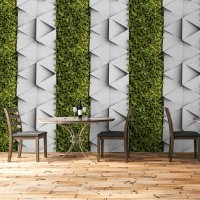Vertical Garden Concrete and Leaves FD-300-20