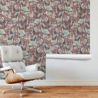 Cute Houses Wallpaper Roll FD-307-023