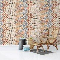 Colorful Tile Pattern Wallpaper FD-801-01