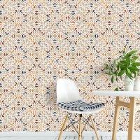 Oriental 3D Pattern Wallpaper FD-802-01