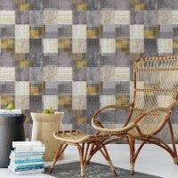 Squares Rug Wallpaper FD-901-01