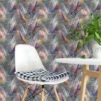 Bird Feathers 3D Pattern Wallpaper FD-903-01