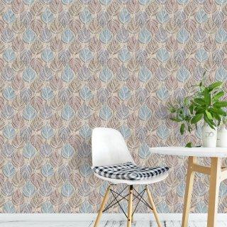 3D Leaves Wallpaper FD-904-01