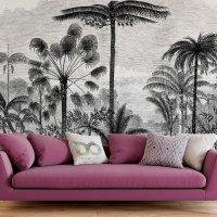 Drawing Tropical Trees Wallpaper