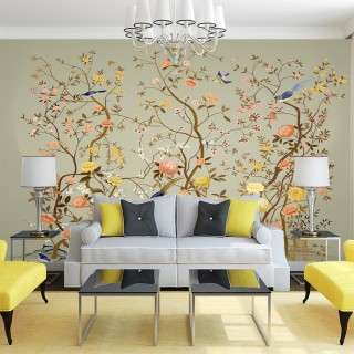 Birds on Branches Wall Poster