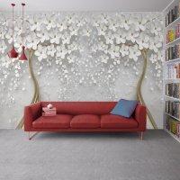 3D Effect Flowers Live Wallpaper