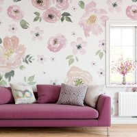 Soft Flowers Wallpaper