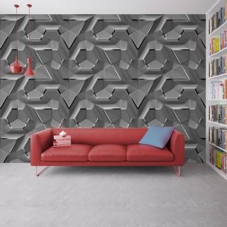 Geometric Wallpaper - Embossed Effect 2