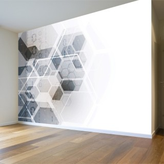 Geometric Shapes Wall Poster
