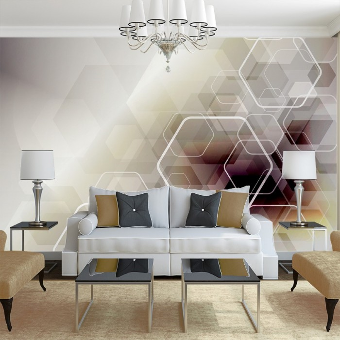 Colorful Geometric Patterns Wall Poster