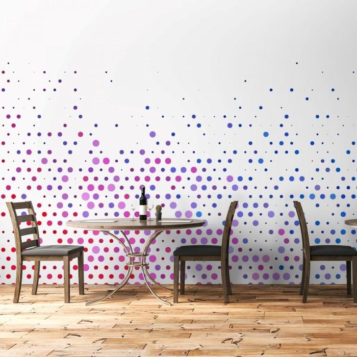 Colorful Circles Wall Poster