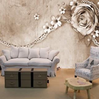 3D Flowers Wallpaper