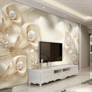 3D Pearl Wallpaper