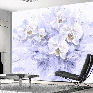 3D Floral Wall Poster