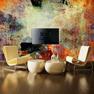 Abstract Oil Painting Wall Poster