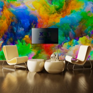 Colorful Blows Wall Poster