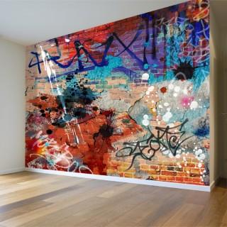 Abstract Sea Graffiti Wall Poster