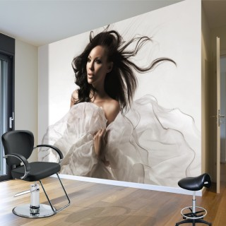 Dancing Hair - Wall Poster