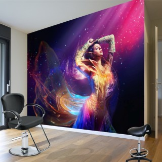Dance with Light - Wall Poster