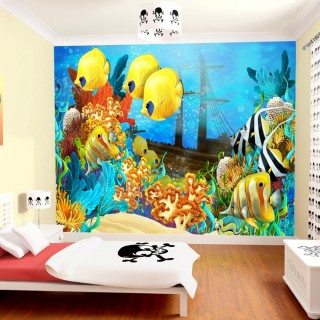 Kids Room Submarine Wall Poster