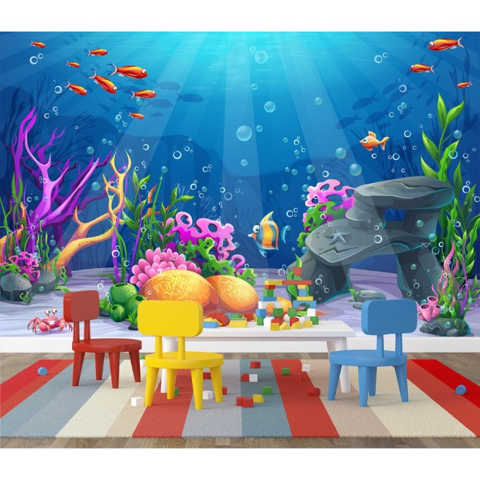 Submarine Kids Room Wall Poster