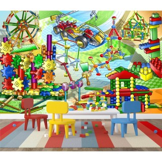 Lego World Wall Poster