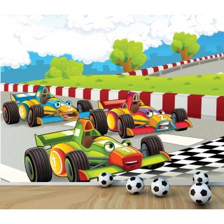 Formula Kids Room Wall Poster