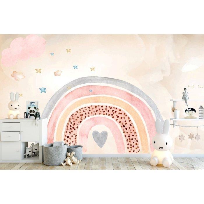 Rainbow Kids Room Wallpaper 2