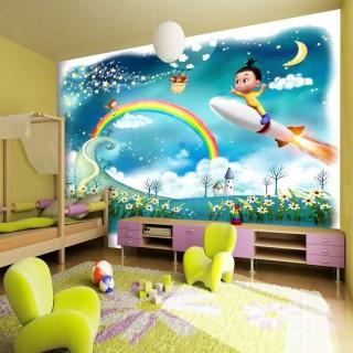 Wallpaper of Sky Dream Kids Room