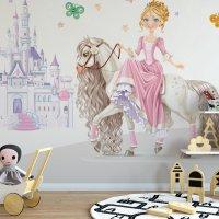 Princess Kids Room Wallpaper