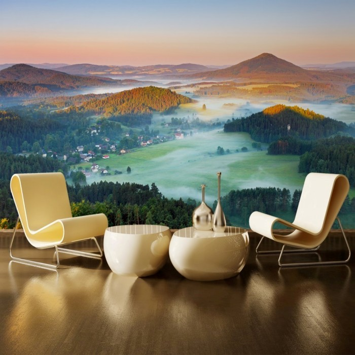 Mountains in the Czech Republic Wall Poster