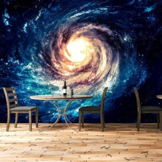 Galaxy 3D Wall Scenery