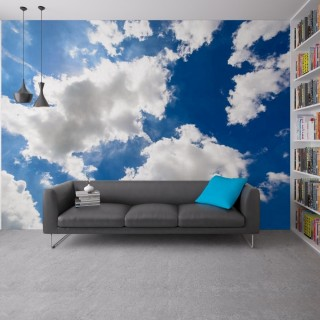 Clouds Wall Poster