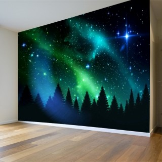 Northern Lights 3D Poster