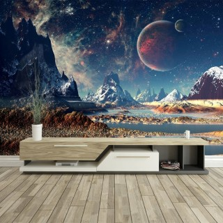 Red Planet Wall Poster
